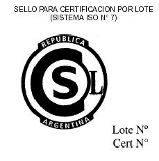 certificación de lote