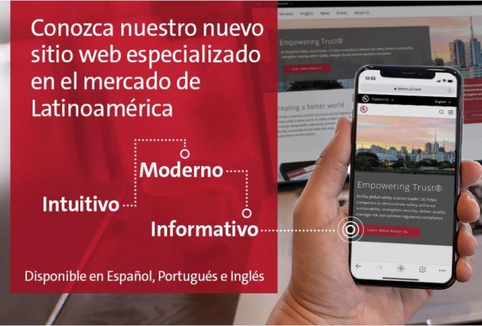 ¡Nuevo sitio web para Latinoamérica!